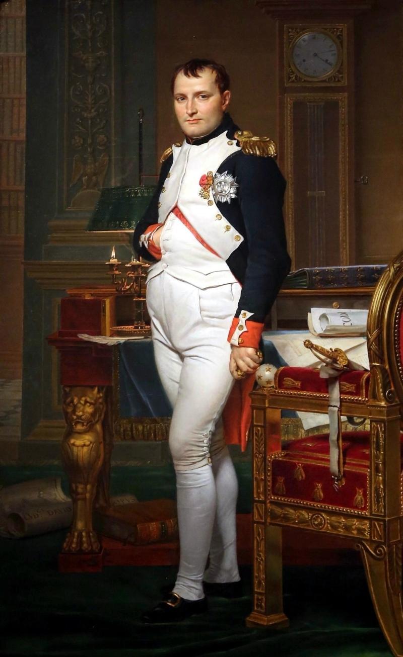 Dios francés de la guerra Napoleón Bonaparte
