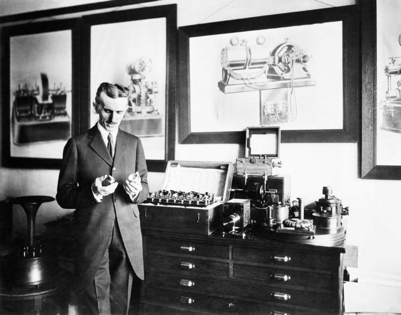 El Científico Loco Nikola Tesla Wallpaper 3 Di Algo Famoso